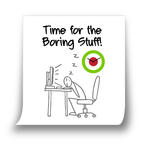 The boring stuff